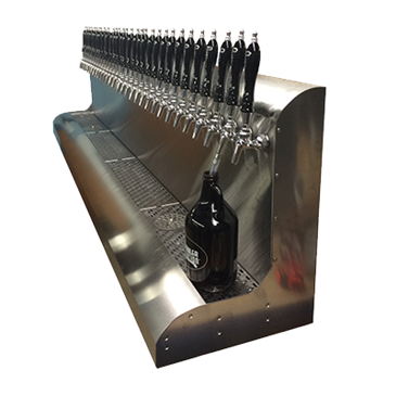 Perlick Corporation Corporation 4076BK18 Modular Draft Beer Dispensing Tower