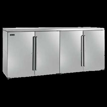 Perlick Corporation Corporation DBN80 Narrow Door Back Bar Dry Storage Cabinet