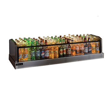 Perlick Corporation Corporation GMDS14X36 Glass Merchandiser Ice Display