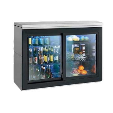 Perlick Corporation Corporation SDBR48 Sliding Door Refrigerated Back Bar Storage Cabinet