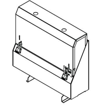 Perlick Corporation Corporation SRLC-S16R Locking Speed Rail Cover