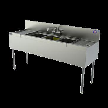 Perlick Corporation Corporation TS63C TS Series Underbar Sink Unit