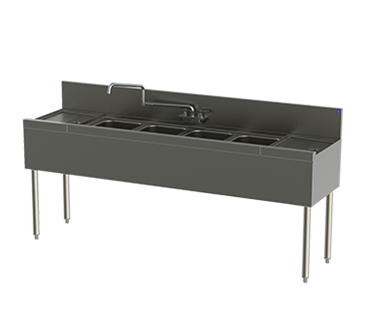 Perlick Corporation Corporation TS64C-STK TS Series Underbar Sink Unit