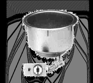 Piper Products/Servolift Eastern 11QT-OD-T-R Hot Food Well Unit