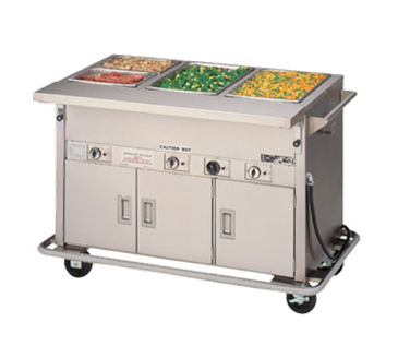 Piper Products/Servolift Eastern 4-HF-HIB Elite Hot Food Serving Counter