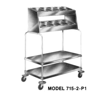 Piper Products/Servolift Eastern 715-2-P5 Tray & Silver Cart