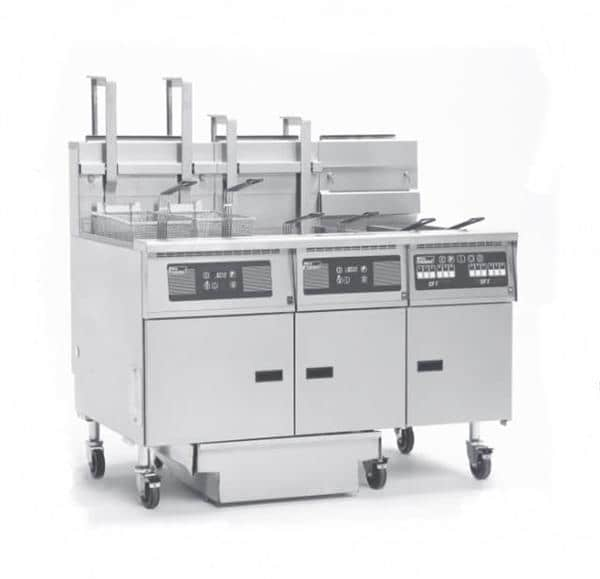 Pitco Frialator SG14RS-3FD Solstice Prepackaged Fryer System with Solstice