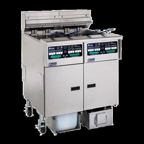 Pitco Frialator SELV14TX-C/FD Solstice Reduced Oil Volume Fryer