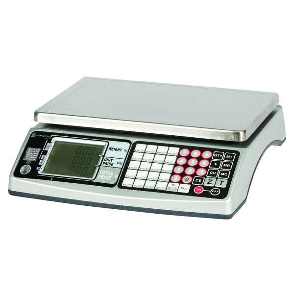 San Jamar SCDG30LFT Pro MZR Price Computing Scale