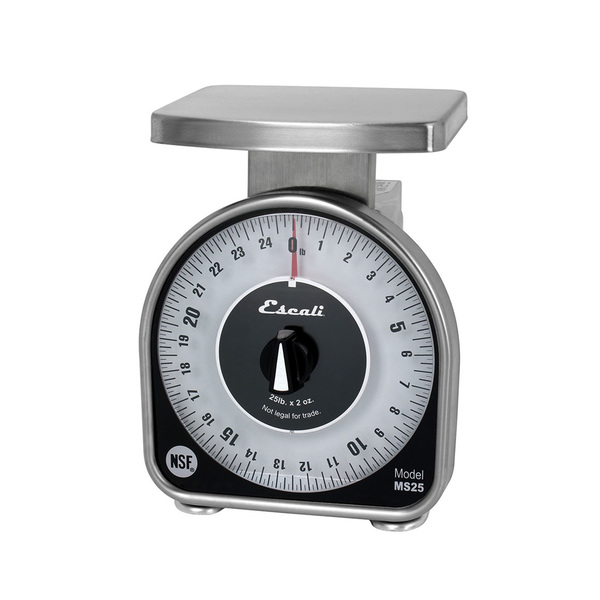 San Jamar SCMDL25 Escali Mechanical Dial Scale