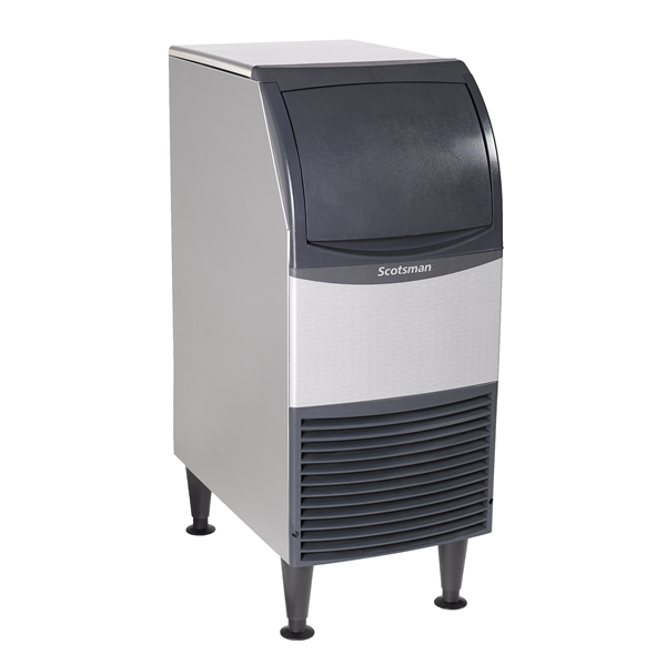 """Scotsman CU0415MA-1 15"""" Full-Dice Ice Maker With Bin, Cube-Style - 50-100 lbs/24 Hr Ice Production, Air-Cooled, 115 Volts"""