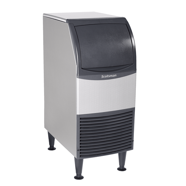 """Scotsman CU0715MA-1 15"""" Full-Dice Ice Maker With Bin, Cube-Style - 50-100 lbs/24 Hr Ice Production, Air-Cooled, 115 Volts"""