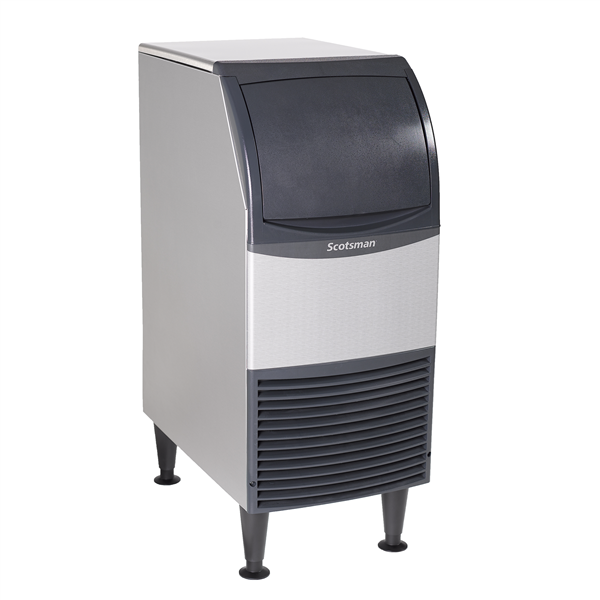 """Scotsman CU0715MA-6 15"""" Full-Dice Ice Maker With Bin, Cube-Style - 50-100 lbs/24 Hr Ice Production, Air-Cooled, 230 Volts"""