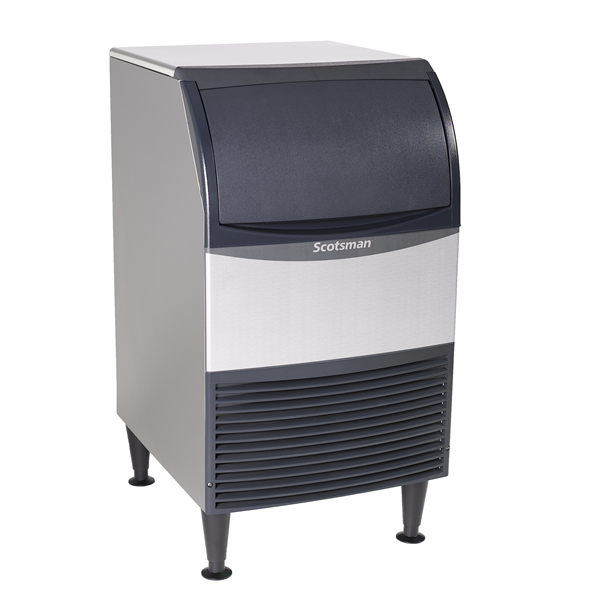 "Scotsman CU0920MA-6 20"" Full-Dice Ice Maker With Bin, Cube-Style - 50-100 lbs/24 Hr Ice Production, Air-Cooled, 230 Volts"