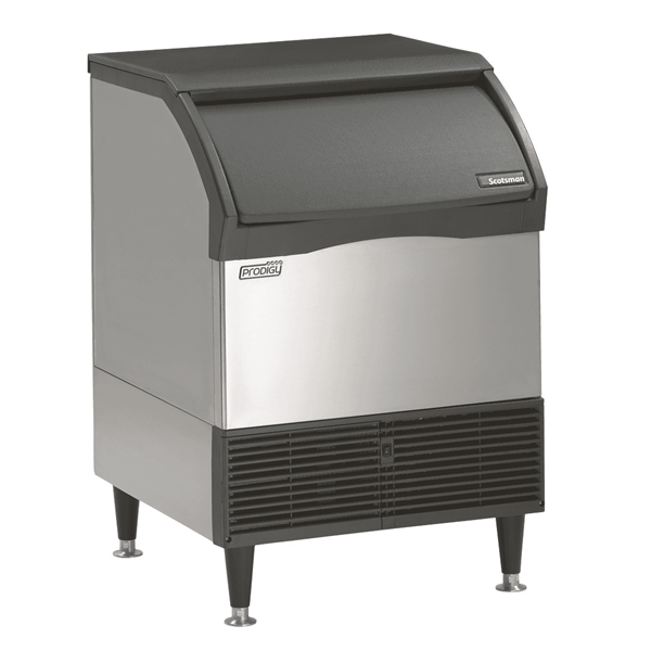 "Scotsman CU1526MA-1 26"" Full-Dice Ice Maker With Bin, Cube-Style - 100-200 lbs/24 Hr Ice Production, Air-Cooled, 208-230 Volts"