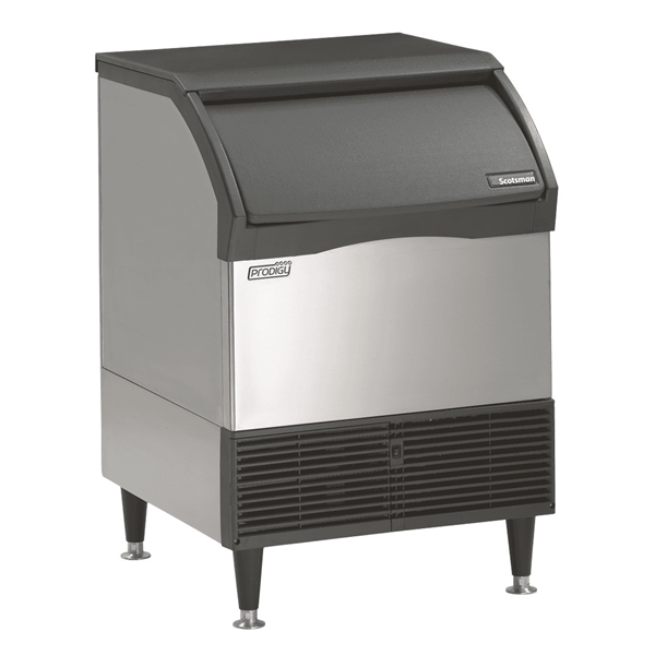 """Scotsman CU2026MA-6 26"""" Full-Dice Ice Maker With Bin, Cube-Style - 100-200 lbs/24 Hr Ice Production, Air-Cooled, 230 Volts"""