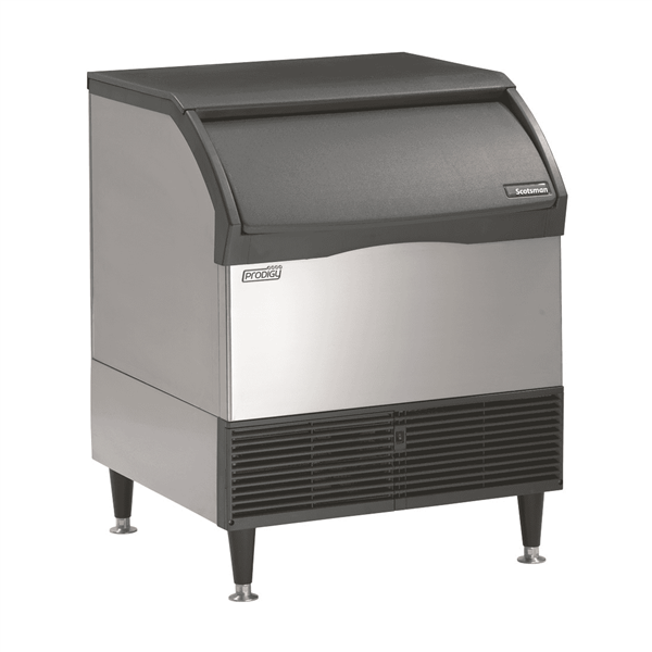 "Scotsman CU3030SA-1 30"" Half-Dice Ice Maker With Bin, Cube-Style - 200-300 lbs/24 Hr Ice Production, Air-Cooled, 115 Volts"