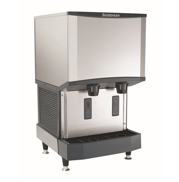 "Scotsman HID525W-1    21.25"" Nugget Ice Maker Dispenser, Nugget-Style - 500-600 lb/24 Hr Ice Production, Water-Cooled, 115 Volts"
