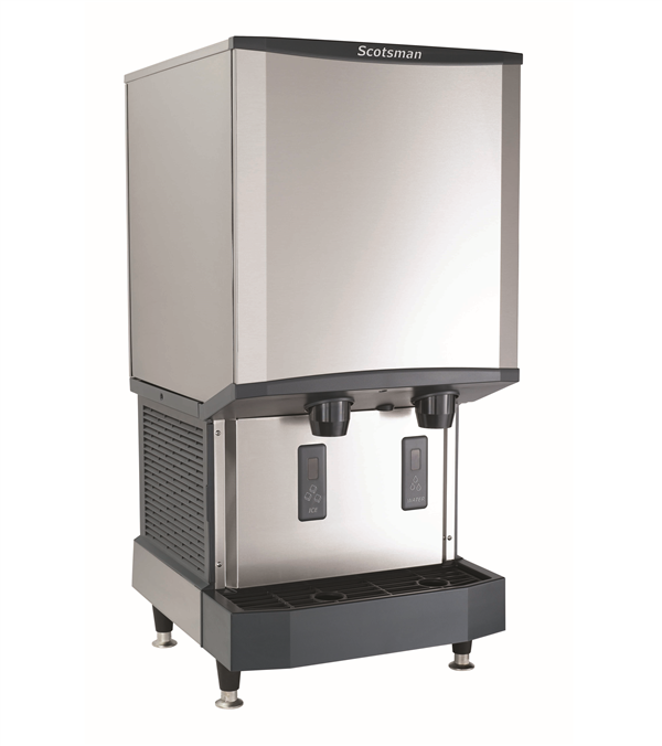 "Scotsman HID540AW-1    23.25"" Nugget Ice Maker Dispenser, Nugget-Style - 500-600 lb/24 Hr Ice Production, Air-Cooled, 115 Volts"