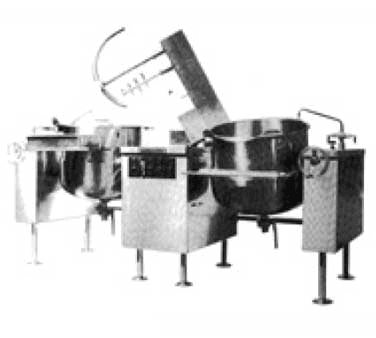 Southbend KDMTL-100-2 Tilting Kettle/Mixer