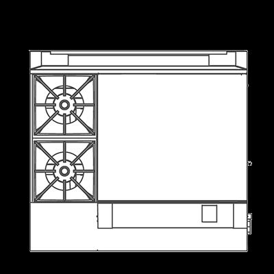 Southbend P36N-BTT Platinum Heavy Duty Range