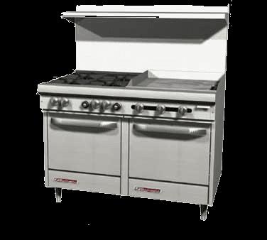 Southbend S48AC-4T S-Series Restaurant Range