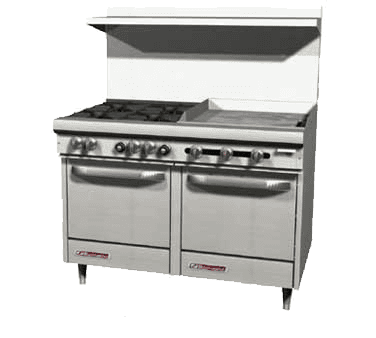 Southbend S48DC-3TR S-Series Restaurant Range