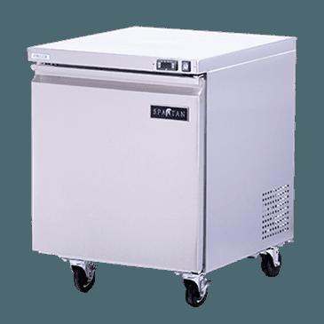 Spartan Refrigeration SUR-27 Undercounter Refrigerator