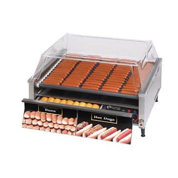 Star Mfg. 75SCBD Star Grill-Max Pro Hot Dog Grill