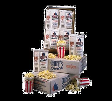 "Star Mfg. CC24-8OZ Chief's Choice"" Portion Pack Popcorn"