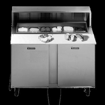 Traulsen UPT2706R0-0300-SB Compact Prep Table