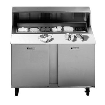Traulsen UPT7218RR-0300-SB Compact Prep Table
