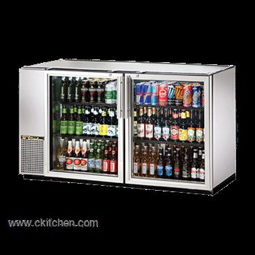 True Food Service Equipment TBB 24GAL 60G S LD Back Bar Cooler