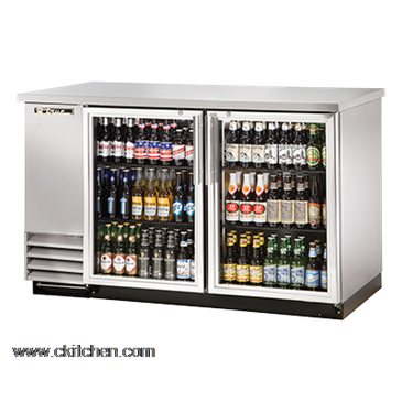 Elegant True Food Service Equipment TBB 2G S LD Back Bar Cooler Design