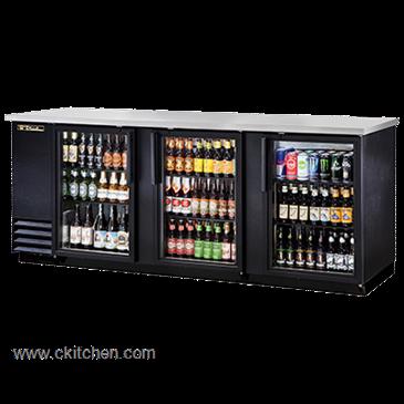 True Food Service Equipment TBB 4G LD Back Bar Cooler