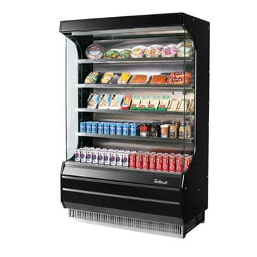 Turbo Air TOM-40B-N Vertical Open Display Merchandiser