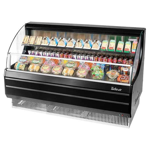Turbo Air TOM-60LB-N Horizontal Open Display Merchandiser