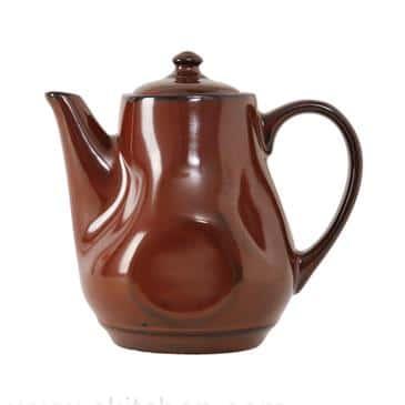 Tuxton China China GAR-101 Teapot