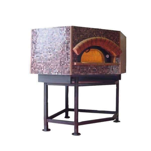 Univex DOME47P Artisan Stone Hearth Pentagonal Pizza Oven
