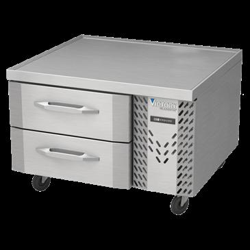 Victory Refrigeration CBR36-1 UltraSpec Series Chef Base Refrigerator Featuring