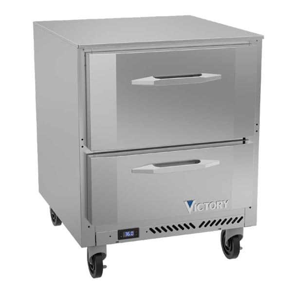 Victory Refrigeration VURD27HC-2 UltraSpec Series Undercounter Refrigerator