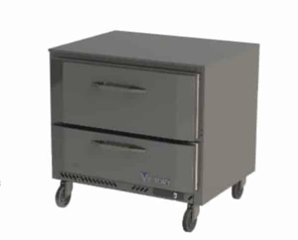 Victory Refrigeration VURD36HC-2 UltraSpec Series Undercounter Refrigerator