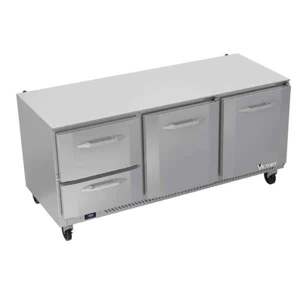 Victory Refrigeration VURD72HC-2 UltraSpec Series Undercounter Refrigerator
