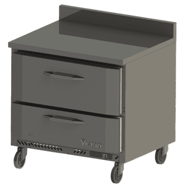 Victory Refrigeration VWRD36-2 UltraSpec Series Worktop Refrigerated Counter