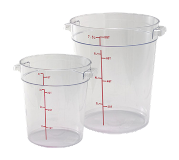 Winco PCRC-22 Food Storage Container