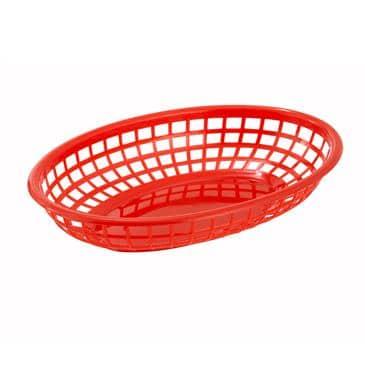 Winco PFB-10R Fast Food Basket