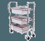 Admiral Craft DCRT Dish Cart