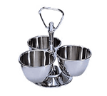 Admiral Craft MLS-3 Revolving Condiment Server