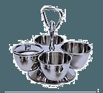 Admiral Craft MLS-4 Revolving Condiment  Server