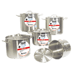 "Admiral Craft SSP-8 Titan Series"" Induction Stock Pot"